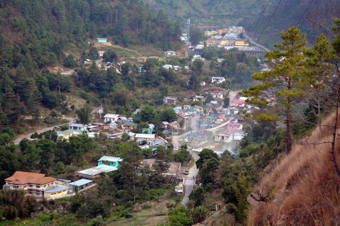 View of Singchung, Tenga Valley