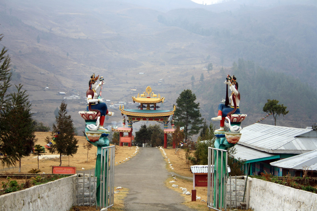 Entrance to Chillipam Monastery