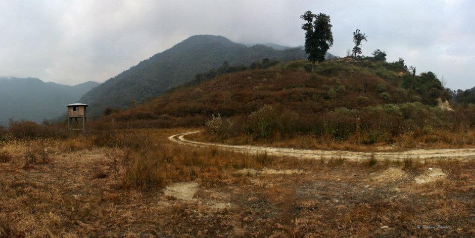Scrub habitat at Chakoo at Eaglenest by Rohan Pandit